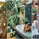 """25 ไอเดีย """"อ่างอาบน้ำกลางแจ้ง"""" ดีไซน์พื้นที่ผ่อนคลายร่างกายท่ามกลางธรรมชาติกลางแจ้ง"""