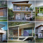 40 แบบบ้านโมเดิร์นสวยๆ จากสุดยอดทีมสถาปนิก ประสบการณ์กว่า 10 ปี