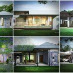 9 แบบบ้านโมเดิร์นชั้นเดียว กับดีไซน์ที่โดดเด่นมีระดับ โดยทีมสถาปนิกมืออาชีพมากประสบการณ์