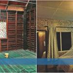 """เปลี่ยนห้องนอนบ้านไม้ให้กลายเป็น """"ห้องนอนปูนเปลือยสุดเท่"""" ท่ามกลางบรรยากาศแสนอบอุ่น"""