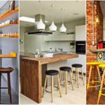 """40 ไอเดีย """"เคาน์เตอร์บาร์"""" เพิ่มมุมสังสรรค์ในครัว ช่วยจัดแบ่งพื้นที่ใช้สอยให้เป็นสัดส่วน"""