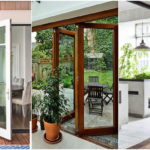 """40 ไอเดีย """"ประตูบานเฟี้ยม"""" สำหรับเฉลียงและระเบียงบ้าน เปิดรับอากาศดีๆ ได้ตลอดวัน"""