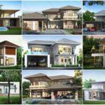 35 แบบบ้านสไตล์โมเดิร์นทรอปิคอล สานฝันคนอยากสร้างบ้าน ด้วยดีไซน์ที่ไม่ซ้ำใคร