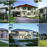 รวม 10 แบบบ้านสไตล์คอนเทมโพรารี ไอเดียเพื่อการสร้างบ้านด้วยดีไซน์และบรรยากาศที่หรูหรา