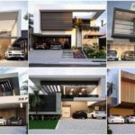 """รวม 40 ไอเดีย """"แบบบ้านโมเดิร์นสองชั้น"""" กับเส้นสายเรขาคณิตสุดเฉียบ ไอเดียสร้างบ้านสวยในรูปแบบที่หรูหราและทันสมัย"""