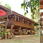 บ้านไม้ไทยล้านนา พื้นที่พักผ่อนร่วมกับธรรมชาติ มาพร้อมใต้ถุนนั่งรับลมระหว่างวัน