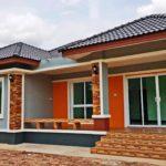 บ้านยกพื้นสไตล์คอนเทมโพรารี 3 ห้องนอน 2 ห้องน้ำ พร้อมพื้นที่ใช้สอย 110 ตารางเมตร