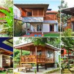 """รวม 40 ไอเดีย """"บ้านไม้กึ่งปูน"""" สวยงามแบบไทย แฝงความดิบเท่ของปูนเปลือย"""