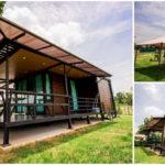 บ้านพักตากอากาศน็อคดาวน์โครงเหล็ก พร้อมระเบียงโปร่งโล่ง 1 ห้องนอน 1 ห้องน้ำ ราคา 590,000 บาท