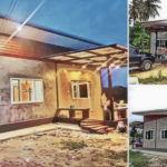 บ้านหลังเล็ก สไตล์โมเดิร์นลอฟท์  2 ห้องนอน 1 ห้องน้ำ งบประมาณเริ่มต้น 300,000 บาท