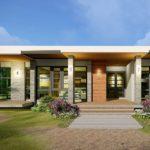 แบบบ้านหน้ากว้างแนวโมเดิร์น ดีไซน์เรียบหรูทันสมัย 3 ห้องนอน 3 ห้องน้ำ พื้นที่ใช้สอย 153 ตารางเมตร