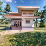 บ้านสไตล์โมเดิร์นขนาดกะทัดรัด 2 ห้องนอน 1 ห้องน้ำ อบอุ่นน่าอยู่สำหรับครอบครัวเริ่มต้น