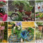 """27 ไอเดียรีไซเคิล """"จักรยานเก่า"""" ให้กลายเป็น """"ของแต่งสวนสุดชิค"""" เนรมิตบรรยากาศแสนอบอุ่นให้สวนสวยของเรา"""