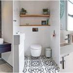 """20 ดีไซน์ """"ห้องน้ำขนาดเล็ก"""" พร้อมฟังก์ชั่นซิงค์ล้างหน้าและสุขา ใช้งานคล่องตัวในพื้นที่จำกัด"""