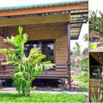 บ้านชั้นเดียวราคาประหยัด ขนาดกะทัดรัด โอบล้อมด้วยธรรมชาติ ในงบประมาณก่อสร้าง 250,000 บาท