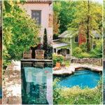"""25 ไอเดีย """"สระว่ายน้ำสไตล์ธรรมชาติ"""" ก่อสร้างได้ในพื้นที่จำกัด เพิ่มมุมพักผ่อนสุดโปรดไว้ในสวนหลังบ้าน"""