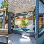 บ้านสวนสไตล์โมเดิร์น เรียบง่ายกะทัดรัด ดื่มด่ำไปกับธรรมชาติด้วยหนังกระจกเปิดโล่ง พร้อมซันรูมชมวิวสวนรอบบ้าน