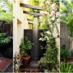 """20 ไอเดีย """"ห้องอาบน้ำในสวน"""" ในสไตล์ป่าร้อนชื้น ดื่มด่ำสายน้ำท่ามกลางธรรมชาติอันเงียบสงบ"""