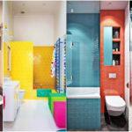 """20 ไอเดีย """"ห้องอาบน้ำสีสันสดใส"""" ออกแบบบรรยากาศการอาบน้ำให้สดชื่น"""