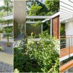 บ้านสองชั้นสไตล์ธรรมชาติ โปร่งโล่งเย็นสบาย ด้วยการออกแบบสวนสวยแทรกไว้กับพื้นที่ใช้ชีวิต