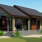แบบบ้านหน้าจั่วสไตล์คันทรี ดีไซน์เพื่อการพักผ่อน 3 ห้องนอน 2 ห้องน้ำ งบก่อสร้างเริ่มต้นที่ 1.2 ล้านบาท