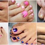 """30 ไอเดีย """"ตกแต่งเล็บเท้า"""" เพิ่มสีสันให้เล็บดูน่ารักน่ามอง สำหรับคุณผู้หญิงโดยเฉพาะ"""