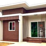 บ้านชั้นเดียวสไตล์โมเดิร์นทรอปิคอล ออกแบบเรียบง่าย พื้นที่ใช้สอย 42 ตร.ม. งบประมาณ 480,000 บาท