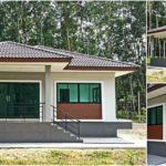 บ้านชั้นเดียวทรงปั้นหยา เรียบง่ายน่าอยู่ 2 ห้องนอน 2 ห้องน้ำ บนพื้นที่ขนาด 120 ตารางเมตร