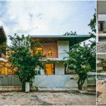 บ้านไทยสไตล์โมเดิร์น โดดเด่นทุกมุมมอง โอบล้อมด้วยสวนและบ่อน้ำ ร่มรื่นทุกพื้นที่พักผ่อน