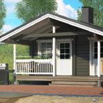 แบบบ้านชั้นเดียวขนาดเล็ก หลังคาทรงจั่ว ขนาดกะทัดรัด ออกแบบสำหรับการพักผ่อน