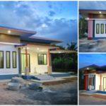 บ้านโมเดิร์นราคาประหยัด 2 ห้องนอน 2 ห้องน้ำ เรียบง่าย กะทัดรัด ในงบประมาณไม่เกิน 500,000 บาท