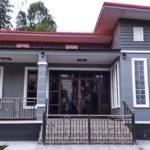 บ้านสไตล์โมเดิร์นโทนสีเทา 2 ห้องนอน 1 ห้องน้ำ พื้นที่ใช้สอย 107 ตารางเมตร งบประมาณก่อสร้าง 870,000 บาท