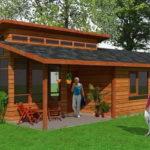 แบบบ้านพักตากอากาศ สไตล์คันทรีรีสอร์ท 4 ห้องนอน 2 ห้องน้ำ ออกแบบเพื่อการพักผ่อนสำหรับครอบครัว