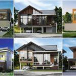 รวม 30 แบบบ้านสองชั้นสไตล์โมเดิร์น – คอนเทมโพรารี ผลงานโดยทีมสร้างบ้านจากปทุมธานี