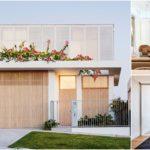 บ้านพักตากอากาศริมทะเล ออกแบบในสไตล์โมเดิร์น ผสานการตกแต่งด้วยงานไม้ที่ให้บรรยากาศอันแสนอบอุ่น