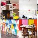 """25 ไอเดีย """"ห้องครัวคัลเลอร์ฟูล"""" แต่งแต้มสีสันสดใส สร้างความสดชื่นในการทำอาหาร"""