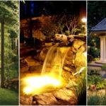 """40 ไอเดีย """"จัดแสงไฟในสวน"""" ดื่มด่ำความสวยงามตระการตายามค่ำคืน"""