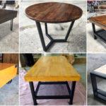 """20 ไอเดีย """"โต๊ะกลางสไตล์อินดัสเทรียลลอฟท์""""สำหรับตกแต่งห้องรับแขกและห้องนั่งเล่น สร้างบรรยากาศที่อบอุ่นเป็นธรรมชาติ"""