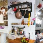 """35 ไอเดีย """"เก็บเครื่องครัวแบบห้อยแขวน"""" เปลี่ยนของใช้ในครัวให้กลายเป็นของตกแต่ง พร้อมความสวยงามเป็นระเบียบ"""