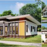 แบบบ้านชั้นเดียวสไตล์โมเดิร์น 3 ห้องนอน 2 ห้องน้ำ จัดสรรพื้นที่เป็นสัดส่วน เพื่อการใช้ชีวิตร่วมกันอย่างมีความสุข