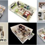 """29 แบบแปลน """"คอนโด/อพาร์ทเมนต์ 1 ห้องนอน"""" ครบครันลงตัว ในพื้นที่ขนาดจำกัด"""
