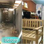 รีโนเวทห้องครัวเก่าให้เป็นห้องทำงานเล็กๆ ออกแบบพื้นที่สำหรับการเริ่มต้นธุรกิจครัวเรือน