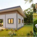 แบบบ้านขนาดกะทัดรัด ดีไซน์ทันสมัยเรียบง่าย ออกแบบเพื่อครอบครัวเริ่มต้น ในงบไม่เกิน 350,000 บาท