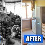 """20 ภาพ Before – After """"ก่อนและหลังทำความสะอาดบ้าน"""" ที่จะทำให้คุณอยากลุกขึ้นมาปัดกวาดเช็ดถูบ้านให้สะอาดเอี่ยมอ่อง"""