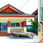 บ้านทรงไทยร่วมสมัย ดีไซน์สะดุดตา เน้นพื้นที่ใช้สอยปลอดโปร่ง พร้อมฟังก์ชันครบครัน