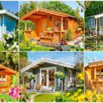 """19 ไอเดีย """"แบบบ้านไม้สไตล์คอทเทจ"""" บ้านสวนหลังน้อย ดีไซน์เพื่อการพักผ่อนในบรรยากาศที่เรียบง่ายและอบอุ่น"""