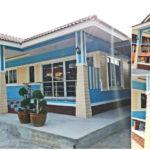 บ้านสไตล์ร่วมสมัย โทนสีฟ้าเรียบง่าย ภายในครบครันทุกพื้นที่ใช้สอย ขนาด 3 ห้องนอน 2 ห้องน้ำ