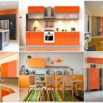 """14 ไอเดีย """"เคาน์เตอร์ครัวสีส้ม"""" โทนสีอบอุ่นและสดใส เปลี่ยนบรรยากาศการทำครัว ให้น่าสนุกกว่าเดิม"""