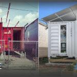 สร้างบ้านจากตู้คอนเทนเนอร์ เรียบง่ายดีไซน์มินิมอล พื้นที่ใช้สอยโปร่งโล่ง พร้อมฟังก์ชั่นครบครัน