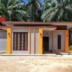 บ้านโมเดิร์นลอฟท์ หลังเล็ก สวยสดด้วยโทนสีเหลือง 2 ห้องนอน 2 ห้องนอน งบก่อสร้าง 700,000 บาท